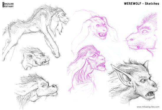 BB_werewolf_sketches