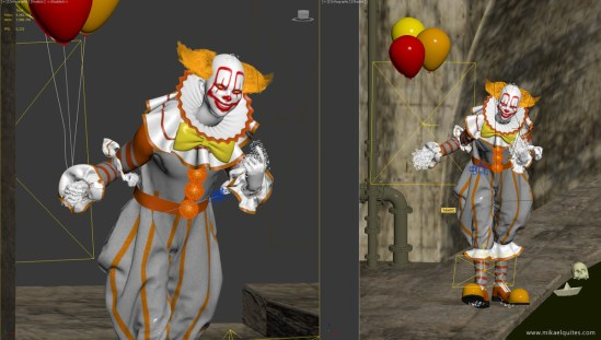 pennywise_3dsmax2